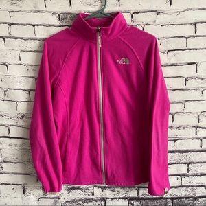 The North Face Fleece Zip Up Jacket
